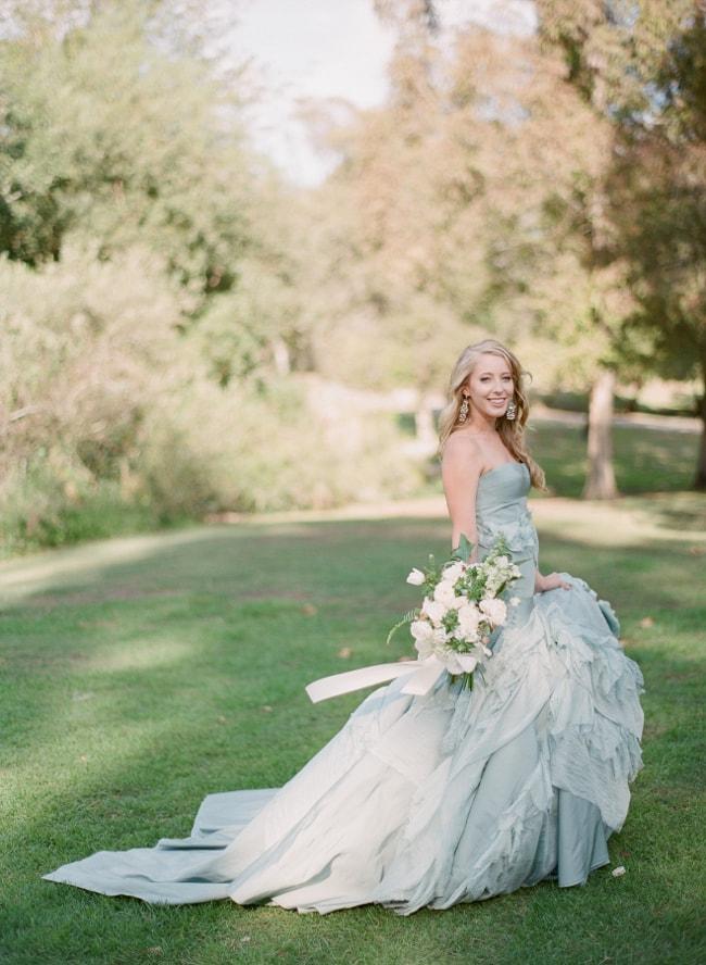 Blue Wedding Dresses Destination Wedding Blog Honeymoon Travel Trendy Bride