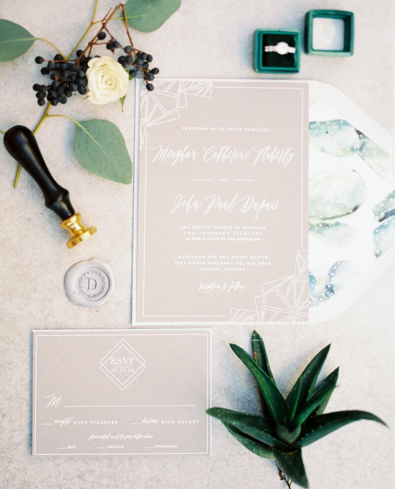 Wedding Invitations Tucson: Tucson AZ Wedding Shoot