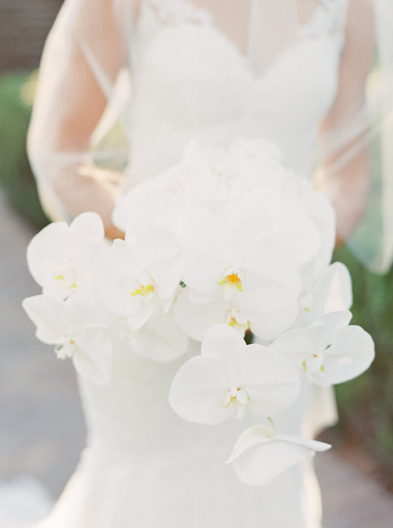Orchid Wedding Flowers Trendy Bride Fine Art Wedding Blog
