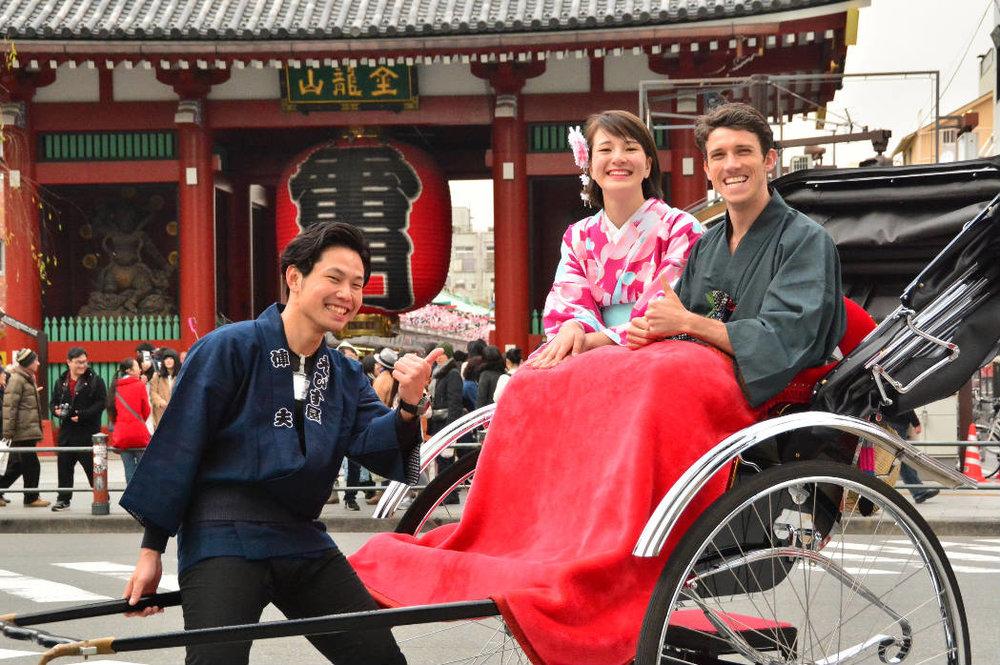 ....JAPANESE RICKSHAW EXPERIENCE..JAPANESE RICKSHAW EXPERIENCE..体验乘坐黄包车..JAPANESE RICKSHAW EXPERIENCE..體驗乘坐黃包車..POUSSE-POUSSE JAPONAIS....