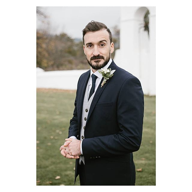 The groom looking very suave. Love that eyebrow! . . . #capetown #capetownwedding #capetownweddingphotographer #destinationwedding #destinationweddingphotographer #seanshannonweddings #weddingphotographer #lookslikefilm #firstsandlasts #saweddings #theprettyblog #realwedding #happilyeverafter #love #hoorayweddings #junebugweddings #marthaweddings #weddingconcepts