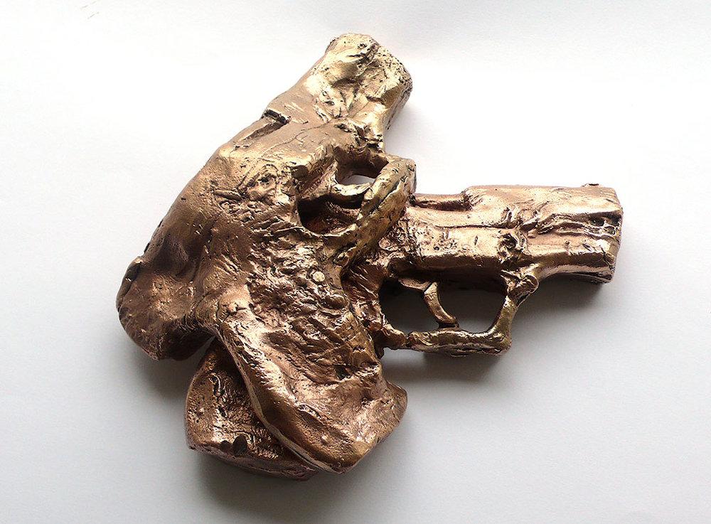 Kamasutra 9 mm, 2009, bronze life-size