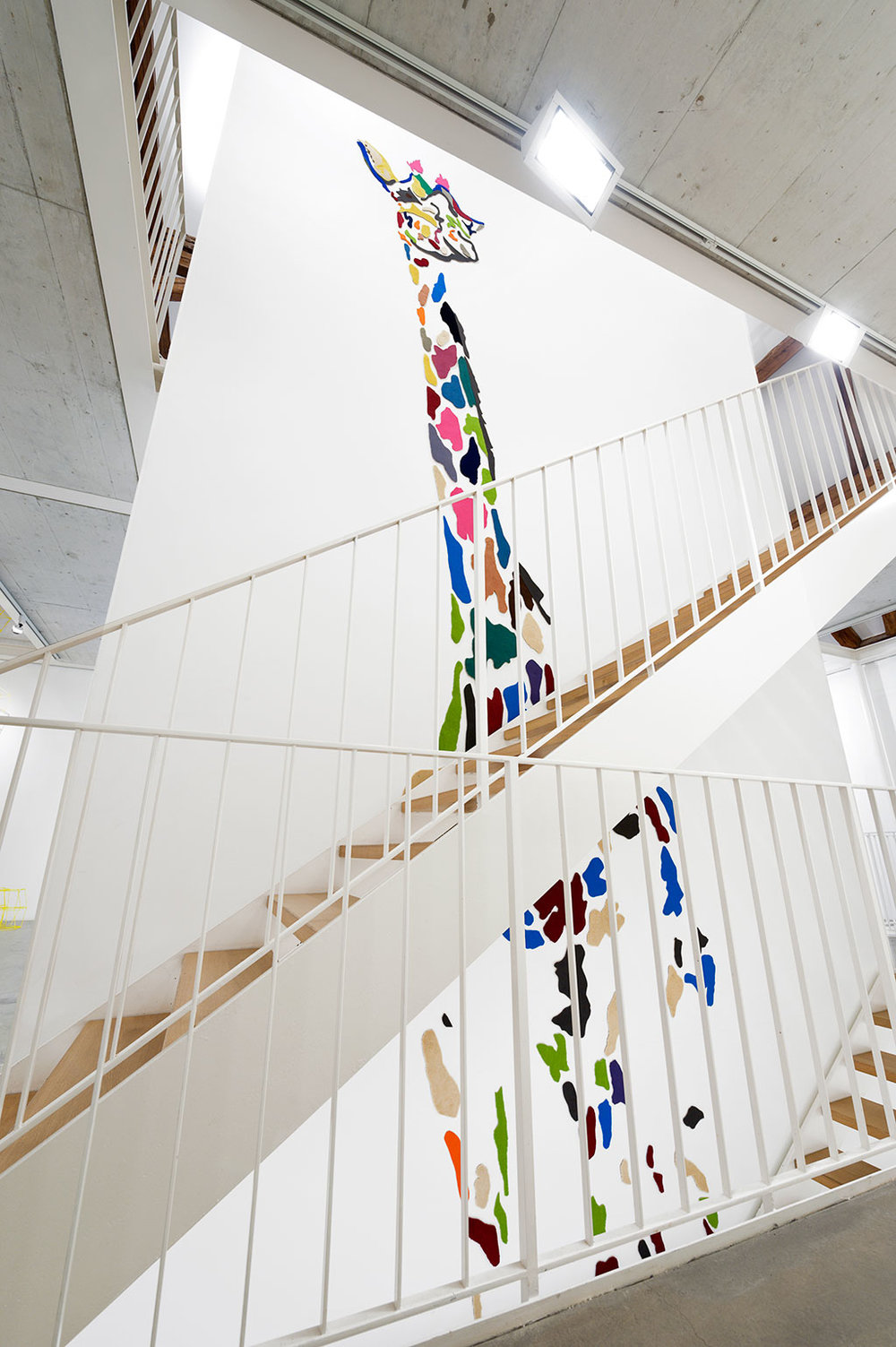 She comes in colours, 2011, Carpet, 890 x 230 cm