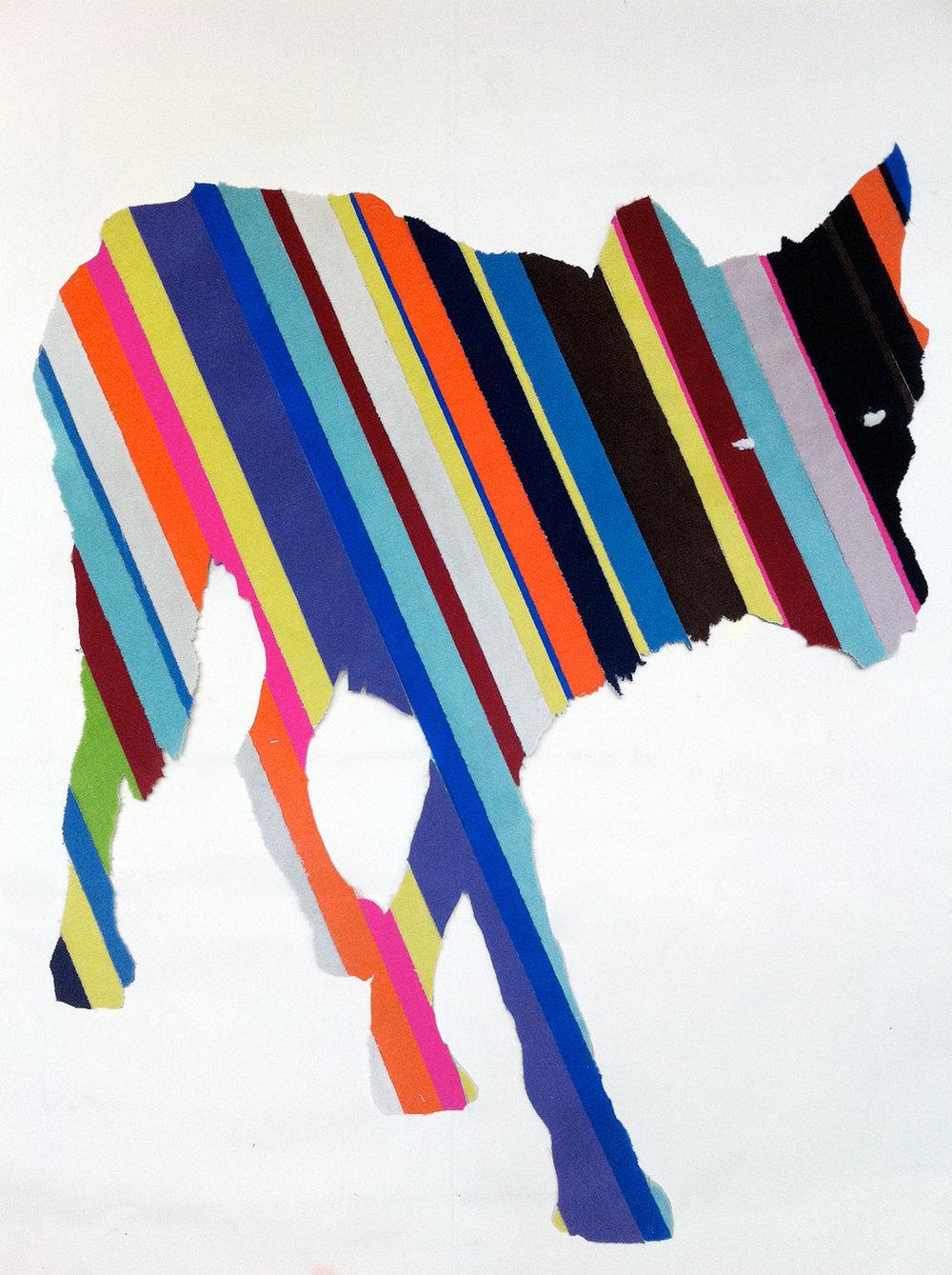 Tarek Abu Hageb . Wolf Smith, 2011, Carpet, 110 x 140cm