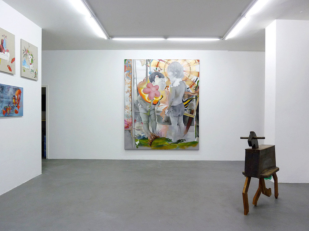 Exhibition view, 2011, Gallery Guillaume Daeppen, Basel
