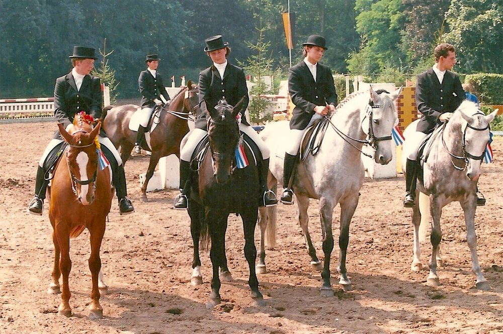 Politz students placing first through fourth at PSG