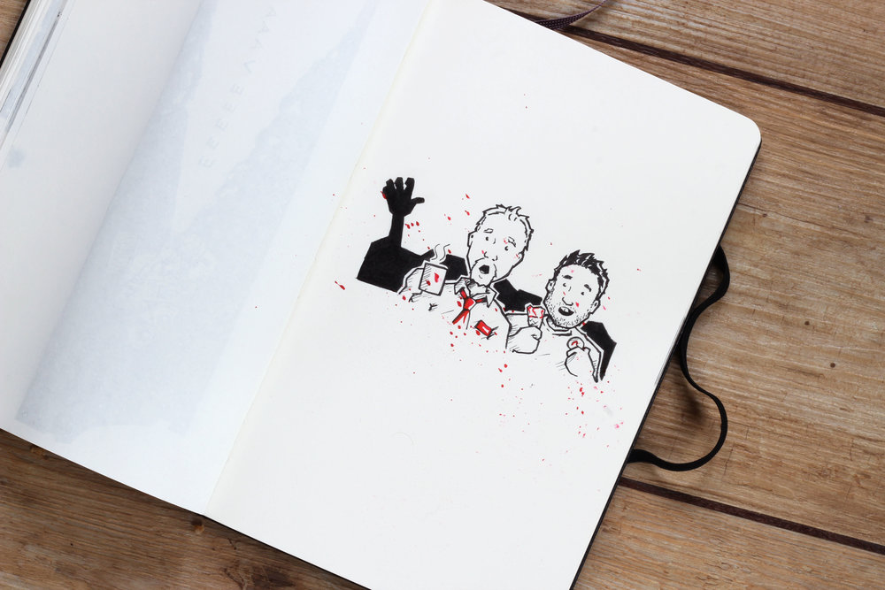 Shaun of the Dead inktober.jpg