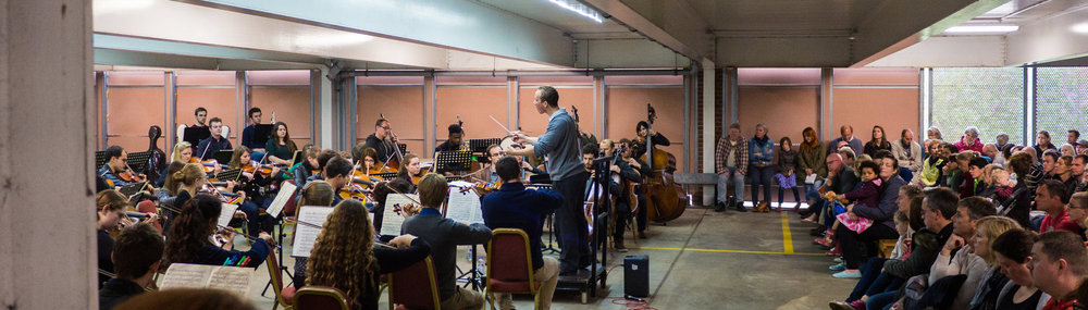 the multi-story orchestra performing in ipswich as part of the aldeburgh festival 2015