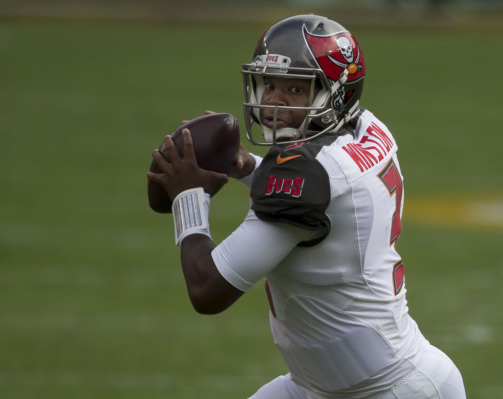 The Bucs are set under center with Jameis Winston, but could use an upgrade at backup. Image courtesy of Flickr.