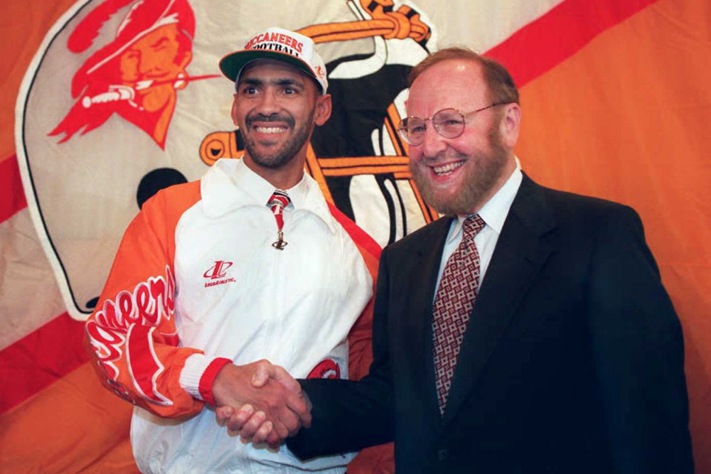 Dungy & Glazer. Image shared from NBCSports.com
