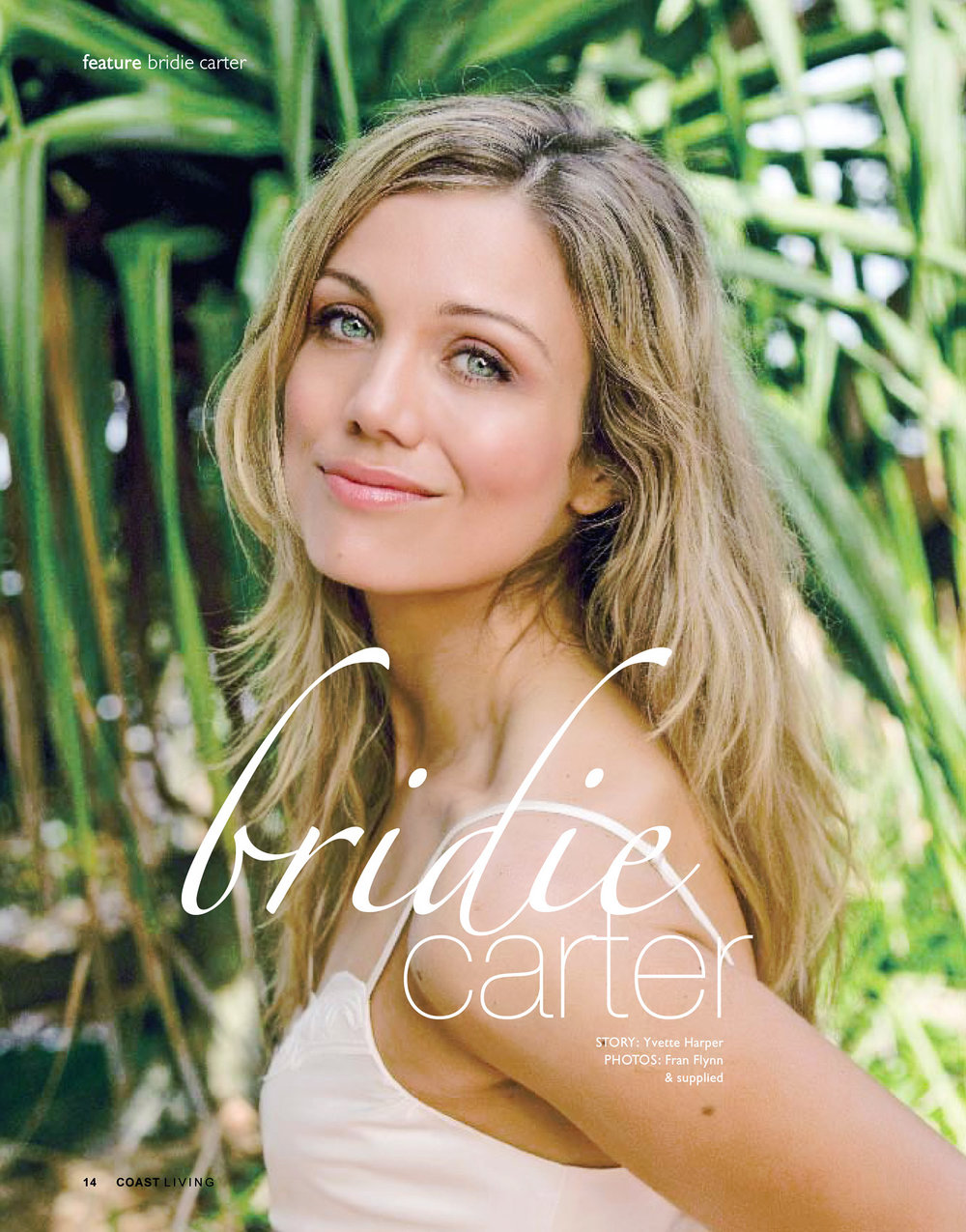 BRIDIE CARTER FOR COAST LIVING MAGAZINE>>