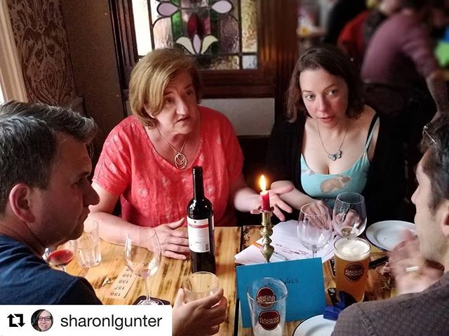 #Repost @sharonlgunter with @get_repost ・・・ Great to see @properchocolate and @honest2goodness last night at the quiz. They are all such good friends to @slowfooddublin !