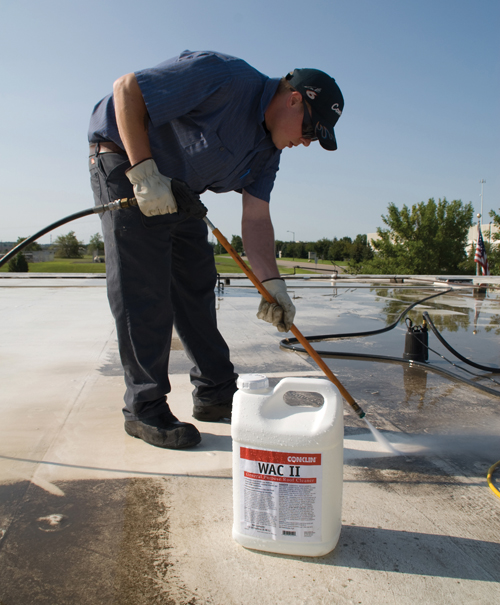 Roof Recoating services columbus ohio