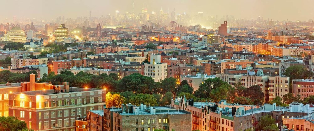 Jeff Liao Manhattan Skyline from Montefiore, 2015 Pigment ink print