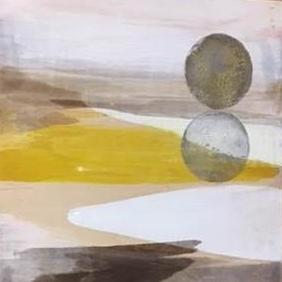 Maria Gil Ulldemolins Sun & Moon, 2015 Mixed media