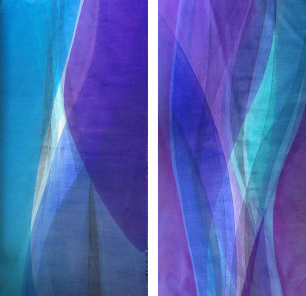 Paul Thomas Equilibrium, 2015 Acrylic on canvas