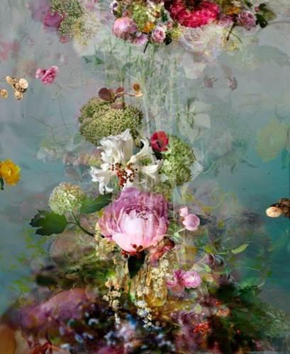 Isabelle Menin Pink Storm #2, 2015 Digital Print
