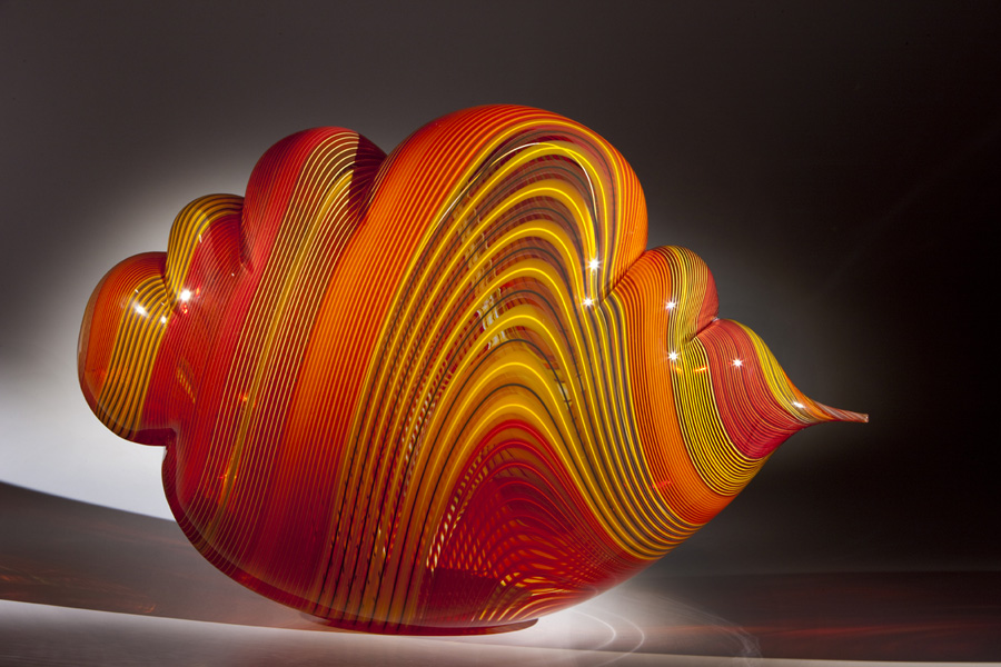 Nancy Callan Symphony Cloud, 2017 Blown glass