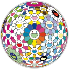 Takashi Murakami Flowerball: Want to Hold You, 2017 Offset lithograph