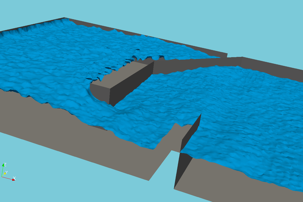 Tutorial: Wave Barrier Design with OpenFOAM and Salome — Hatari Labs
