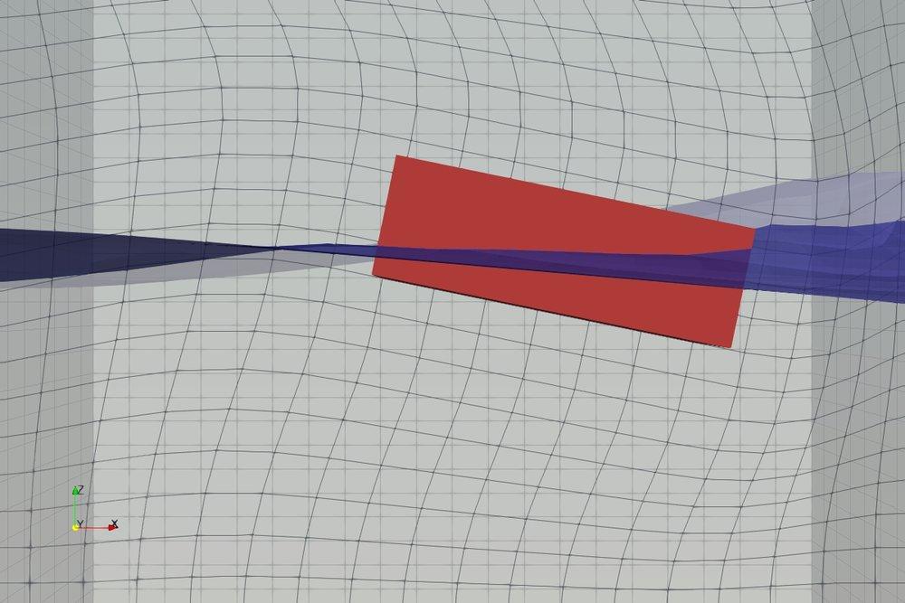 Model mesh after 1.2 seconds