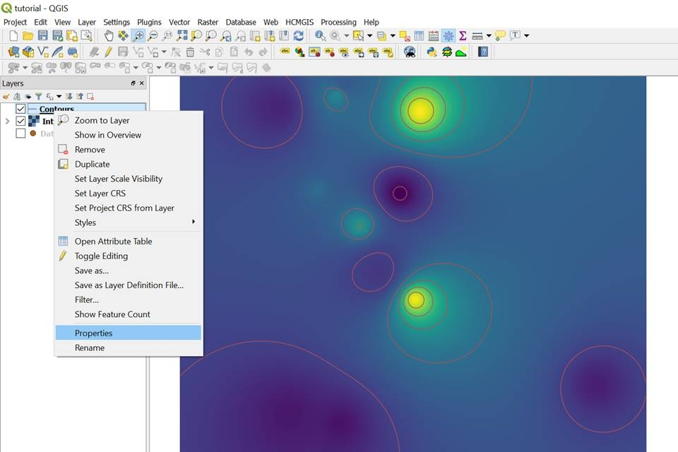 How to visualize water quality data in QGIS 3? From points to raster
