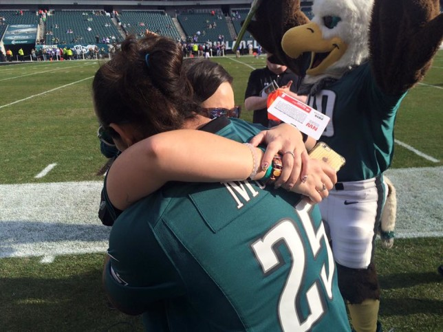 Engagement at Lincoln Financial Field