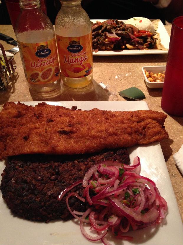 peruvian food tacu tacu