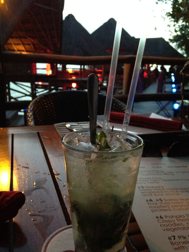 non-alcoholic mojito in cancun