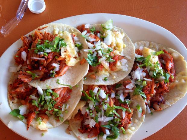 cancun mexican tacos al pastor