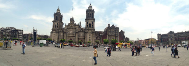 Mexico City main square