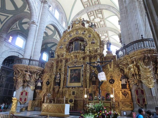 Metropolitan Cathedral Zocalo