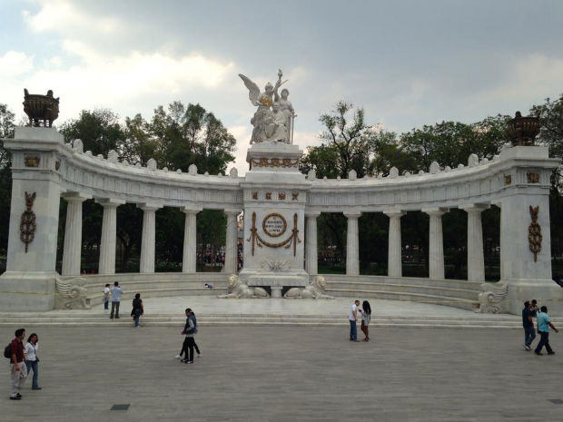 Monumento a Benito Juarez Mexico City