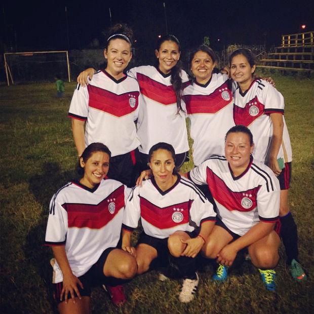 soccer in Cancun 2014
