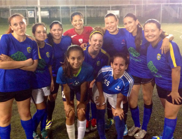 Soccer cancun mexico