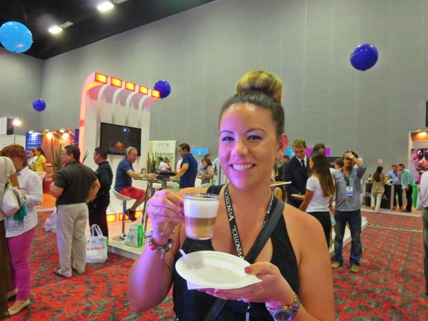 sober girl's dream - Coffee at Wine & Food Fest