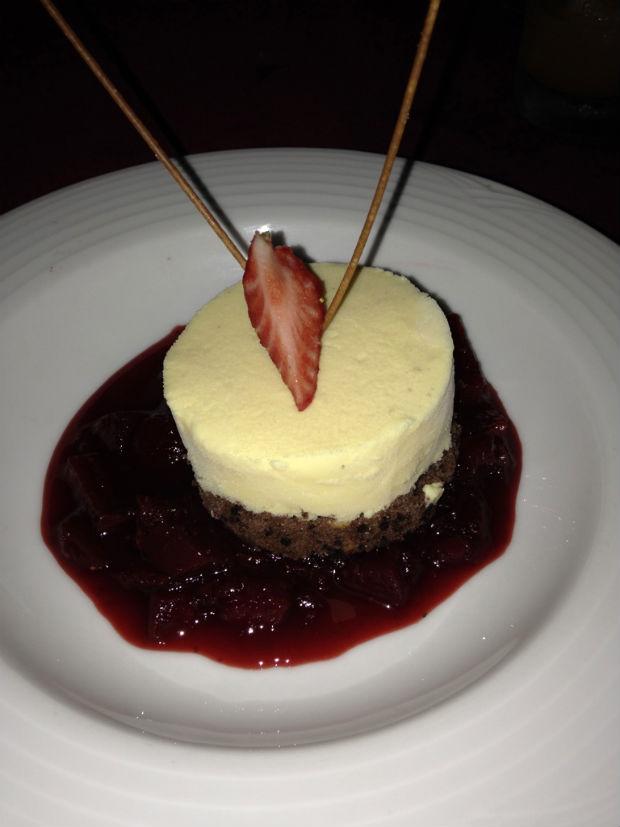 dessert at Cin Cin