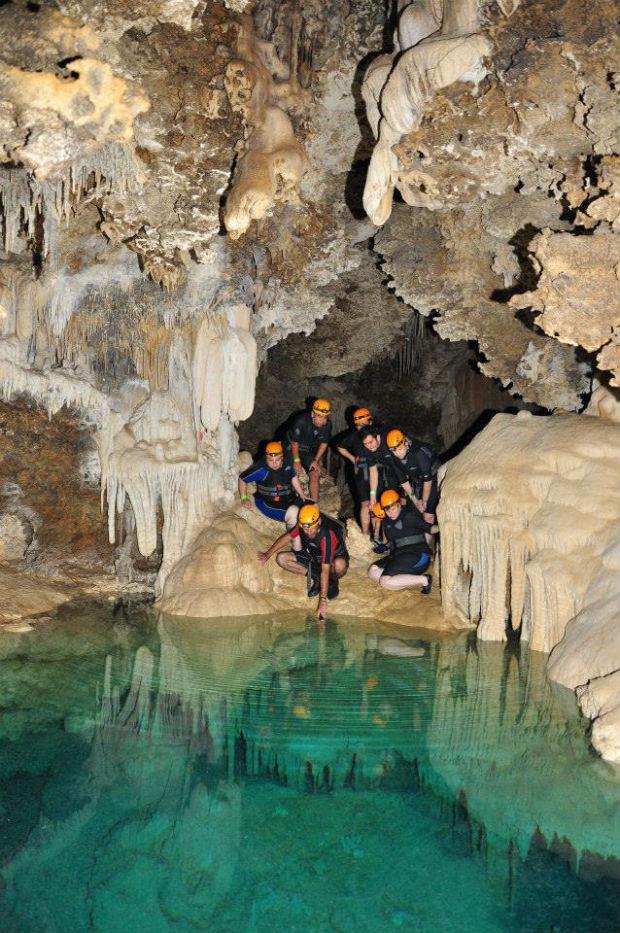 Rio Secreto cave
