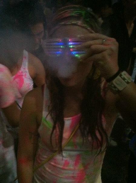 Me drinking and smoking during Spring Break 2012