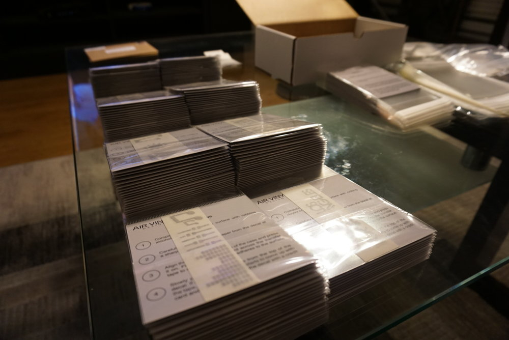 All 200 units packaged.