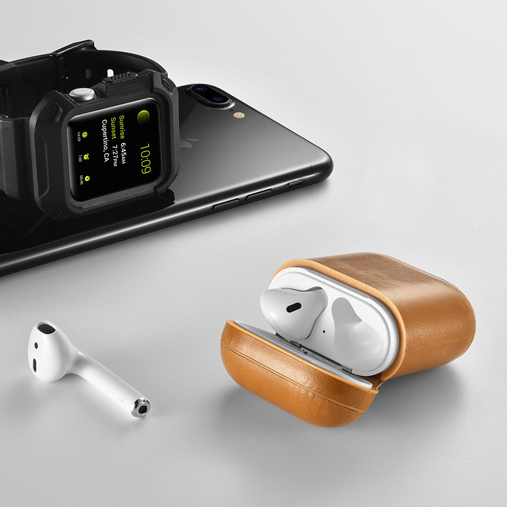 Leather AirPod cases -