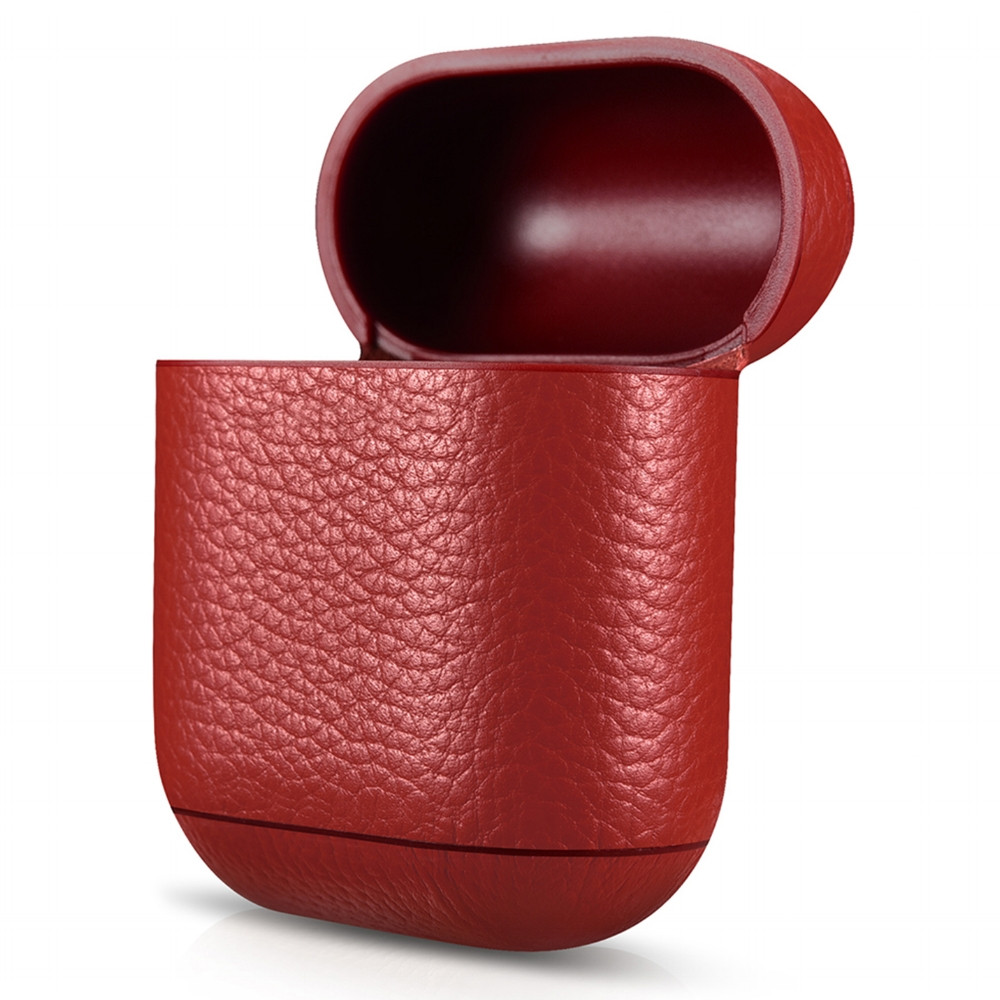 leather-case-airpods-red-pebble-series