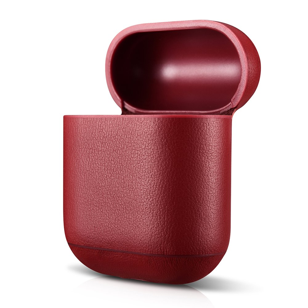 leather-airpod-case-red-classic-series-air-vinyl-design