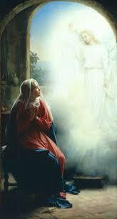 Mary & The Angel Gabriel.