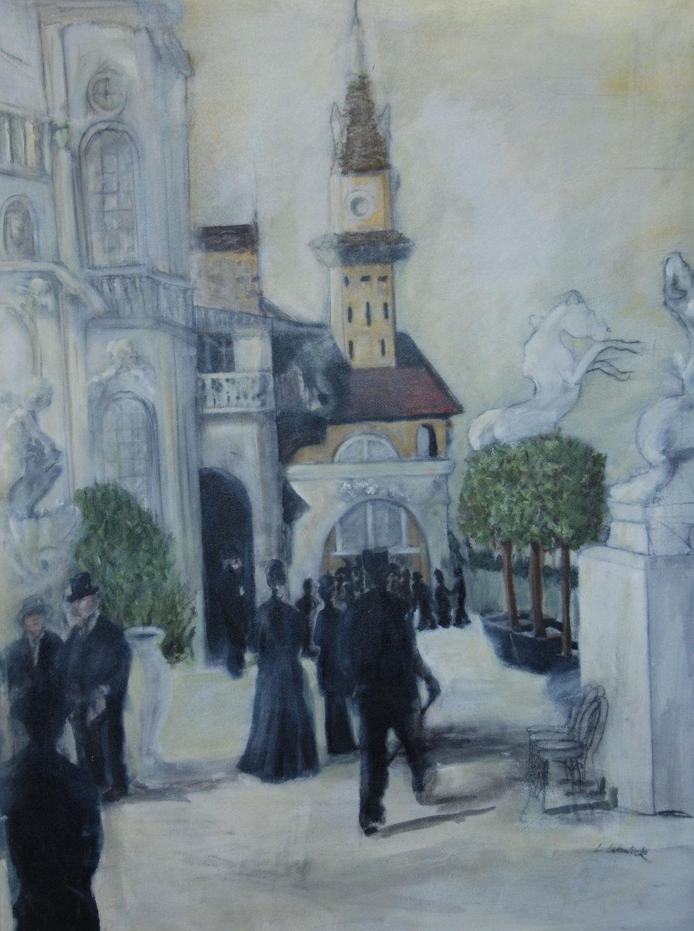 """""""Paris Street Scene #1"""""""