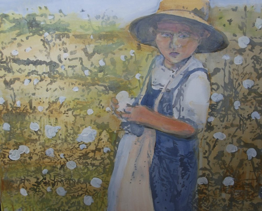 """Young Cotton Picker"""