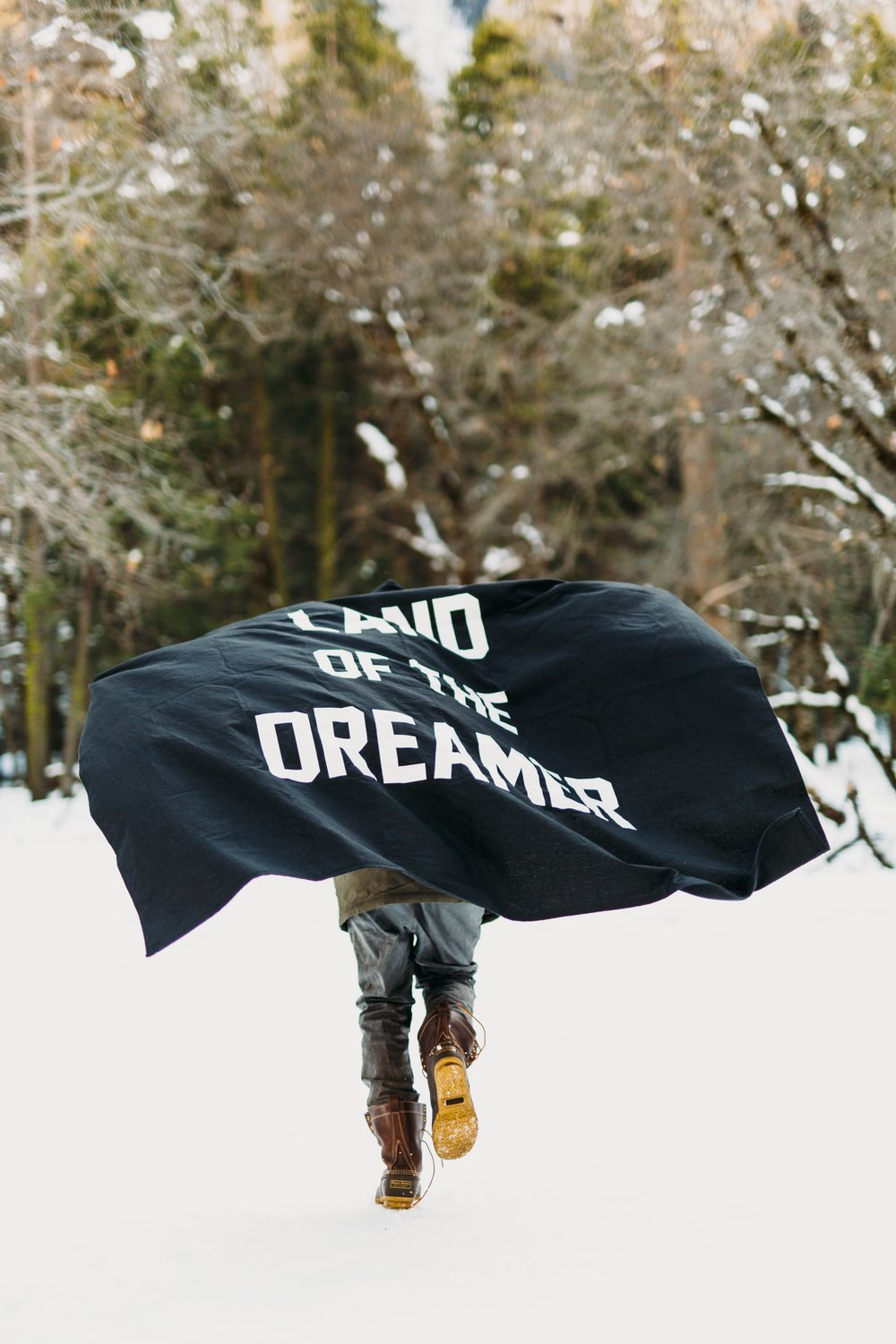 When a dreamer claims territory in her land, she has to maintain her ground. That's what it is to live in the land of dreamers. Holding ground.