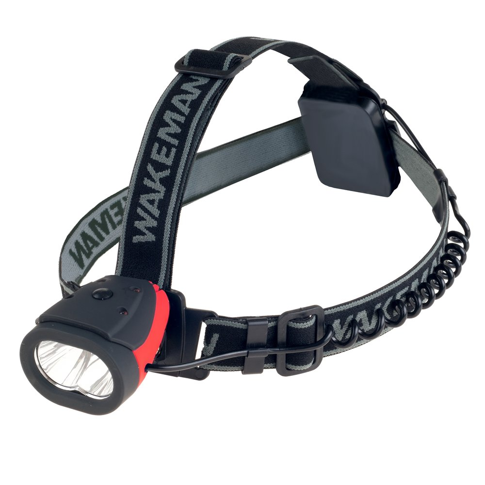 Water Resistant LED Headlamp- 160 Lumen