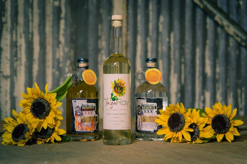 FREE TASTING OF OUR SPECIAL SUNFLOWER SPIRIT TAZARAY