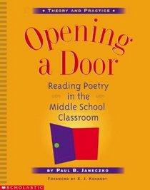 Opening a Door